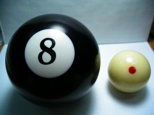 huge 8 ball